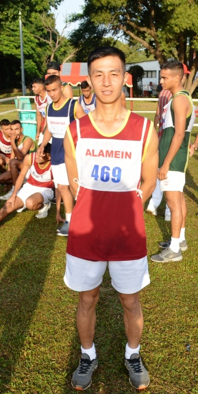 GC Abhishek Rai of Alamein Company came 3rd (Picture Courtesy: Indian Military Academy)