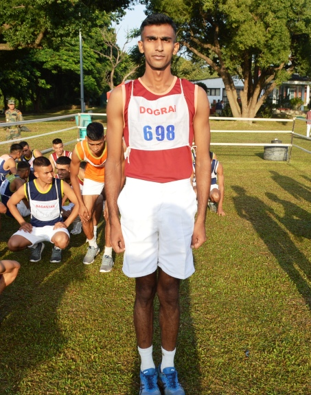 GC Himanshu Kashyap of Dograi Company came 2nd (Picture Courtesy: Indian Military Academy)