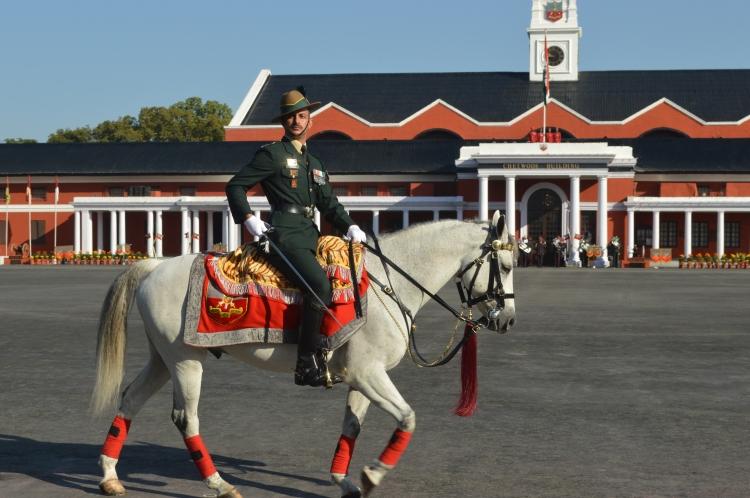 Adjutant On his Charger- Tuglaq