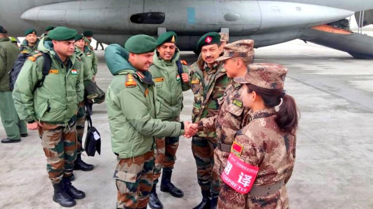 India China Resume Joint Military Training Hand In Hand Indian